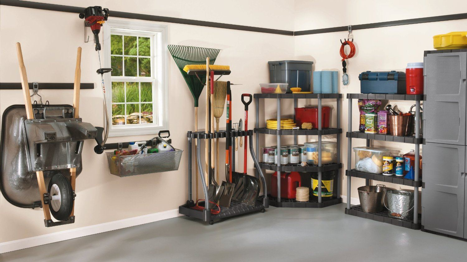 Garden Tool Organizer Rubbermaid Tool Tower Pools And Tubs