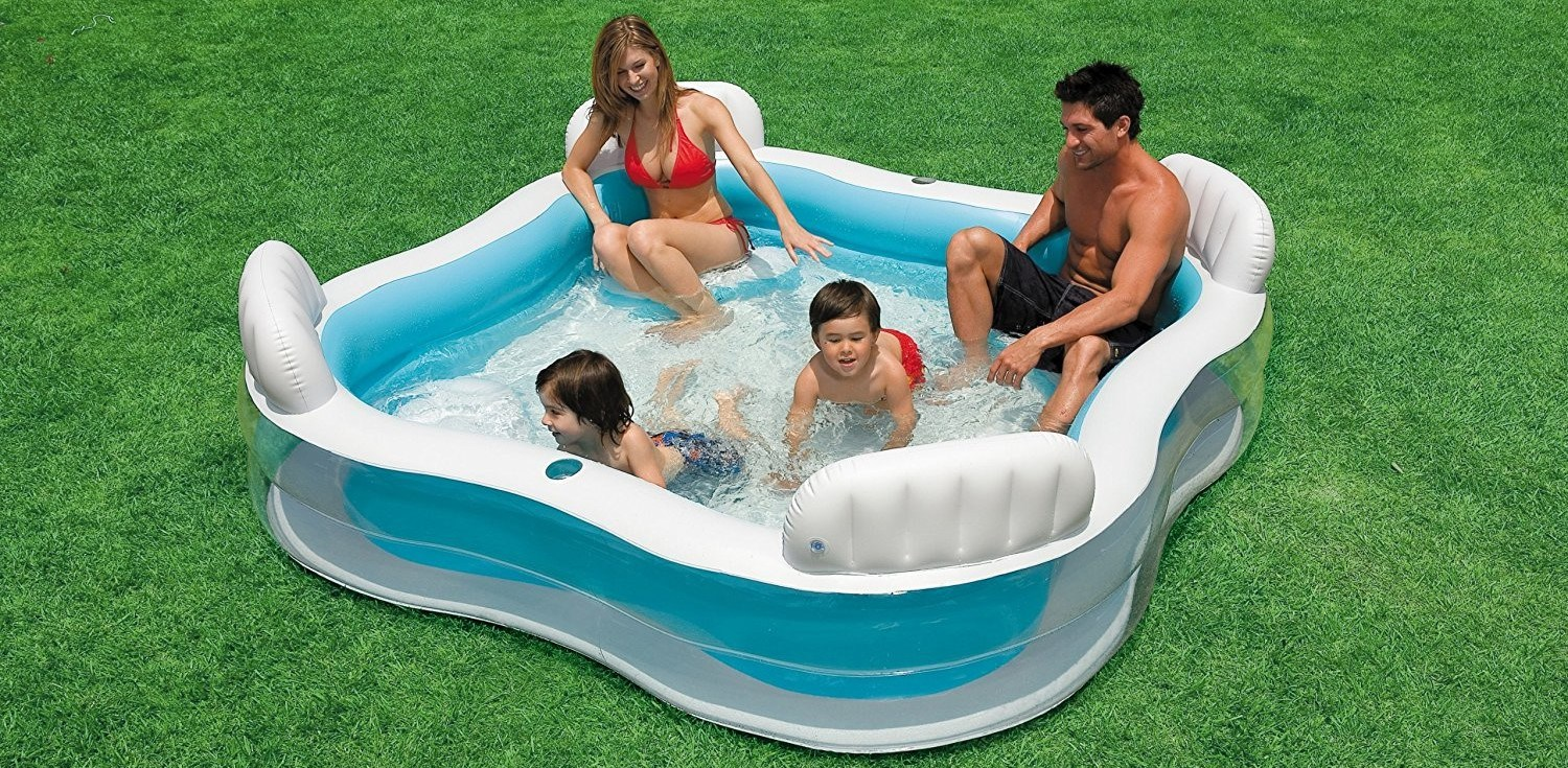 Intex Swim Center Family Lounge Pool Review