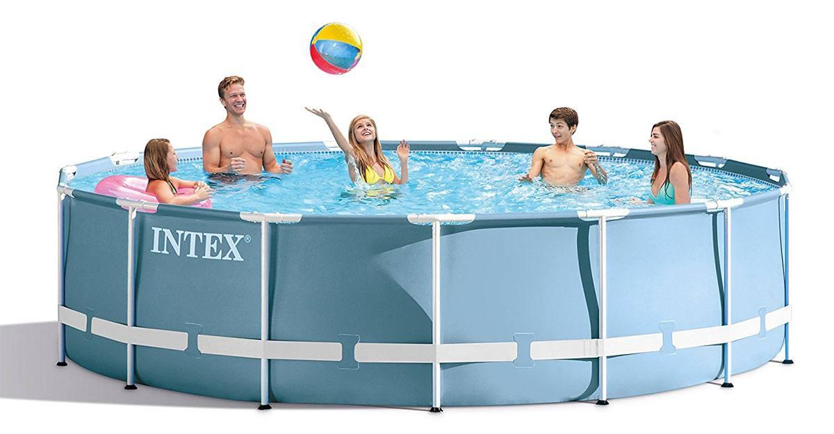 Intex prism frame pool reviews pools and tubs for Frame pool obi